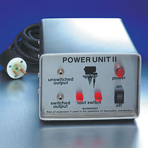 Brushed Stainless Steel Deluxe Power Unit II<br><i>for Revolution I & II only</i>
