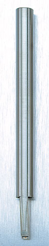 Stainless Steel Closed Type 6 Needle Flat Tip Shader Tube<br><i>without Grip</i>