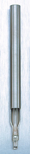 Stainless Steel 6 Needle Square Tip Shader Tube<br><i>without Grip</i>