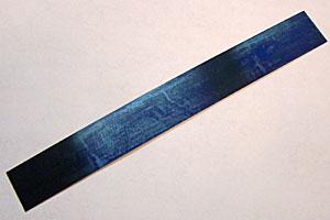 """7"""" Blue Steel Spring Blank"""