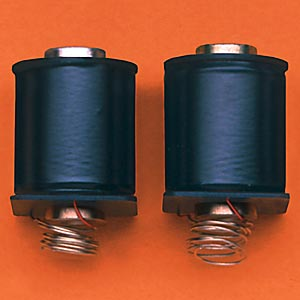 1 Pair Deluxe Machine Coils<br><i>Short 10 wrap, with black covers</i>
