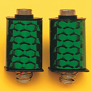 1 Pair Green Deluxe Machine Coils