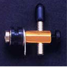 Gold-Plated Front Binding Post with Contact Screw
