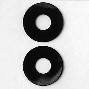 Black Nylon Washers