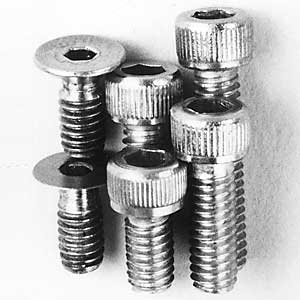Assorted Caphead Screws