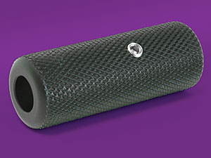 "Black 5/8"" Anodized Aluminum Grip"