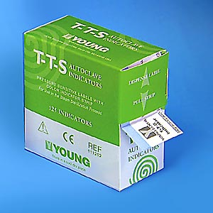 T-T-S Autoclave Sterilization Indicators