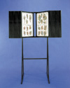 Flash Rack – 1 Tier Floor Unit  with Black Plastic Panels