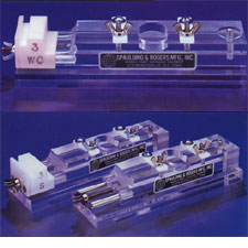 Plexiglas Loop Type Needle Bar Jig
