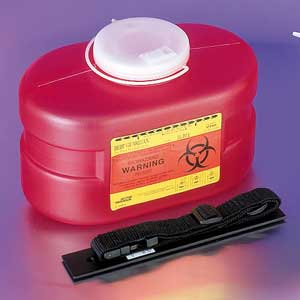 3.3 Quart Sharps Medical Waste Collector
