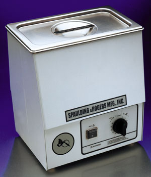 Spaulding & Rogers 3/4 Gallon Ultrasonic Cleaner w/ Timer