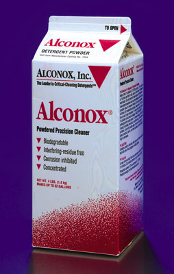 Alconox Powdered Precision Ultrasonic Cleaner - 4 lb Box
