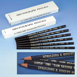 Hectograph Pencils (Out of Stock)