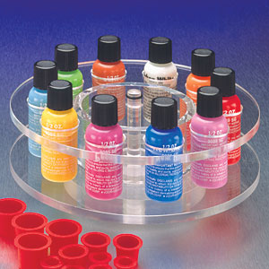 1/2 Ounce Lazy Susan Bottle Rack