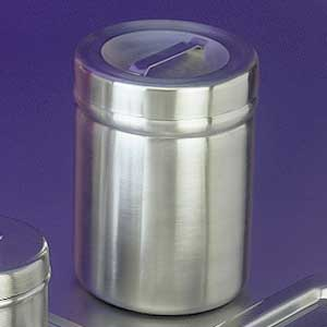 Stainless Steel Dressing Jar w/Cover, 32 oz