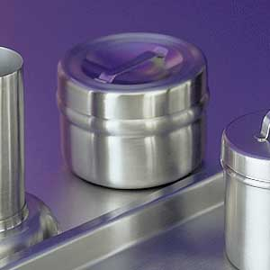 Stainless Steel Dressing Jar w/Cover, 16 oz.