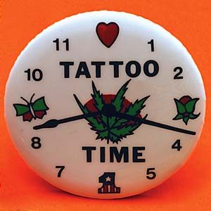 Tattoo Time Button