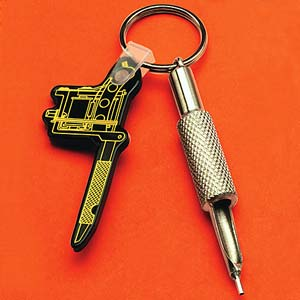 Our Shorty Liner Tube Key Fob
