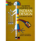 North American Indian Design<br><i>Coloring Book</i>