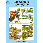 Sharks of the World<br><i>Coloring Book</i>
