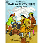 Pirates & Buccaneers<br><i>Coloring Book</i>