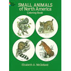 Small Animals of North America<br><i>Coloring Book</i>