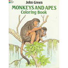 Monkeys and Apes<br><i>Coloring Book</i>