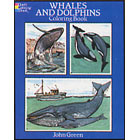 Whales and Dolphins<br><i>Coloring Book</i>