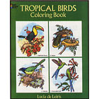 Tropical Birds<br><i>Coloring Book</i>