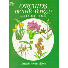 Orchids of the World<br><i>Coloring Book</i>
