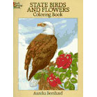State Birds and Flowers<br><i>Coloring Book</i>