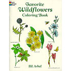 Favorite Wildflowers<br><i>Coloring Book</i>