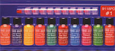 VooDoo Brand™ #1 Color Sampler Pack<br><i>1/2oz Bottle of All Ten Colors</i>