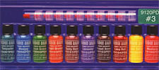 VooDoo Brand™ #3 Color Sampler Pack<br><i>1/2oz Bottle of All Ten Colors</i>