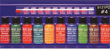 VooDoo Brand™ #4 Color Sampler Pack<br><i>1/2oz Bottle of All Ten Colors</i>