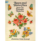 Roses and Butterflies<br><i>Iron-On Transfer Patterns</i>