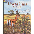 African Plains<br><i>Coloring Book</i>