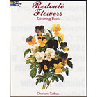 Redoute Flowers<br><i>Coloring Book</i>