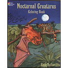 Nocturnal Creatures<br><i>Coloring Book</i>
