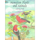 Hawaiian Plants and Animals<br><i>Coloring Book</i>
