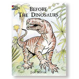Before the Dinosaurs<br><i>Coloring Book</i>