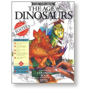 Age of Dinosaurs<br><i>Coloring Book</i>