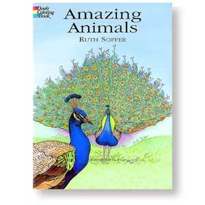 Amazing Animals<br><i>Coloring Book</i>