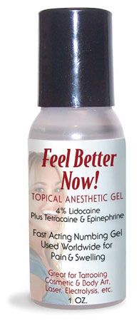 Feel Better Now! Topical Anesthetic Gel - 1oz