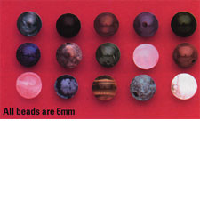 Semi-Precious Stone Bead - 6mm