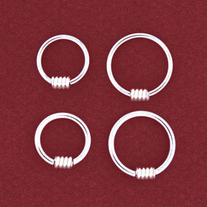 Captive Coil Ring