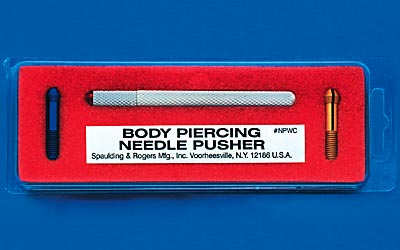 Needle Pusher with Three Collets