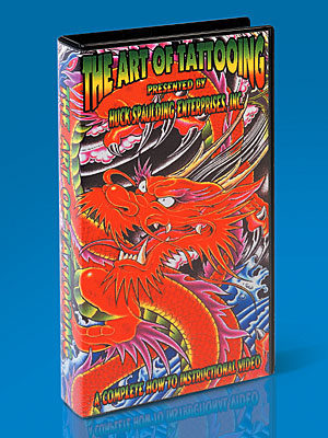 The Art of Tattooing VHS