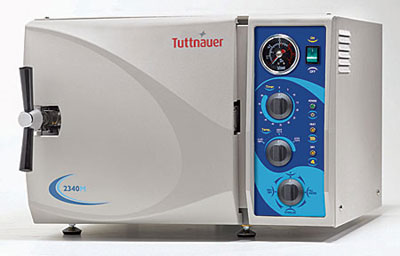 Tuttnauer Autoclave Sterilizer Model 2340M - CALL FOR SPECIAL PRICING!