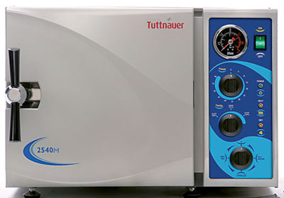 Tuttnauer Autoclave Sterilizer Model 2540M - CALL FOR SPECIAL PRICING!